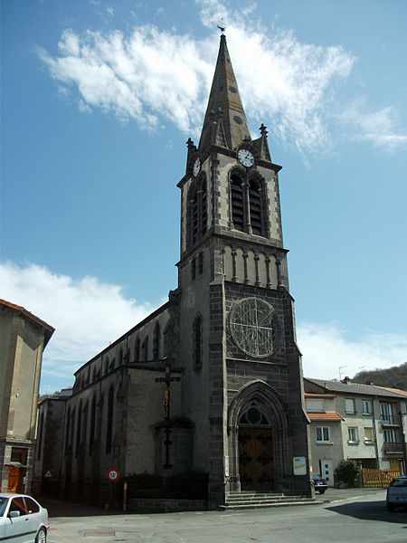 Nohanent's church. Elevation 440 m/1,444 ft