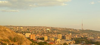 Nork-Marash District - Nork-Marash district as seen from the top of the Yerevan Cascade