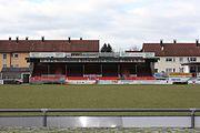 Normannia Gmünd - Stadion Tribüne