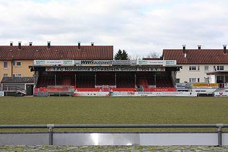 1. FC Normannia Gmünd - The Jahnstadion in Schwäbisch Gmünd