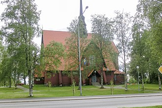 Norsjö - Norsjö Church in June 2012
