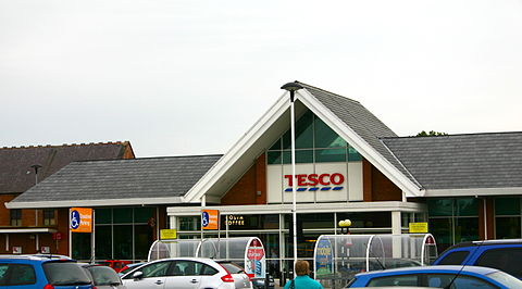 Northallerton Tesco Entrance & Costa