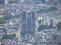 Notre-Dame, vu du troisième étage (Paris).jpg