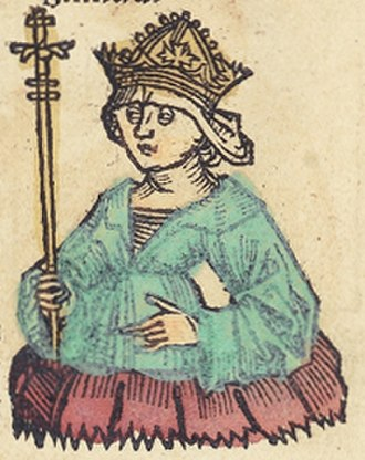 Barbara of Cilli - Image: Nuremberg chronicles f 242r 4 (Barbara coniunx sigismundi)