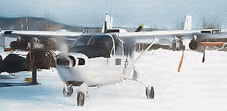 343d Wing - 25th TASS O-2A at Eielson AFB