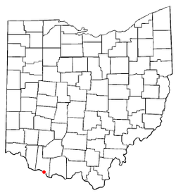 Location of Ripley, Ohio