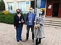OSCE observers in local elections 2020 in Turbiv.jpg