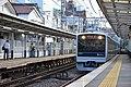 Odakyu 3000 series (2nd gen) at Minami-Shinjuku Station 2016-10-07 (30568941941).jpg