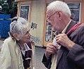 Oehme, Peter mit Helena Rakova bei einem Besuch in Prag (2007).jpg