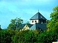 Oestrich-Mittelrhein - Basilika Sankt Ägidius von der Rheinfähre aus gesehen - panoramio.jpg