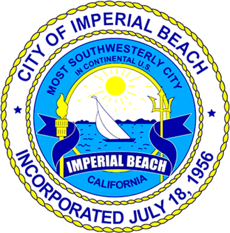 Imperial Beach, California - Image: Official Seal of the City of Imperial Beach, CA