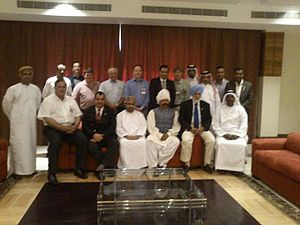 International Tent Pegging Federation - Officials of ITPF, group photo after meeting on Oct 27, 2013. Oman