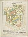 Officieel plan der tentoonstelling Amsterdam 1883 (titel op object), RP-P-OB-89.770.jpg