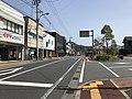 Oita Prefectural Road No.678 in front of Bungo-Mori Station 2.jpg