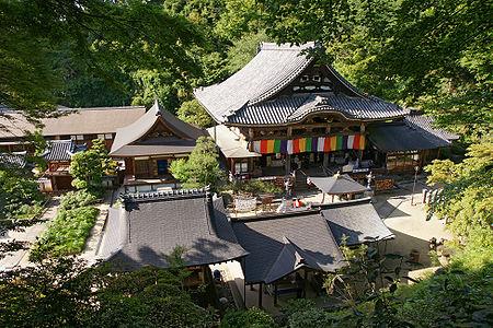 Okadera in Asuka, Nara Prefecture, Japan.