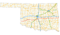 Oklahoma State Highway 9 map.png