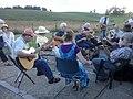 Old-time music jam Singers Glen VA June 2012.jpg