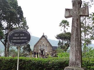 Christ Church Warleigh, Dickoya Church in Dickoya, Sri Lanka