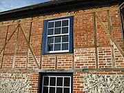 Brick and timber construction