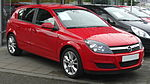 Opel Astra F, G, H, J