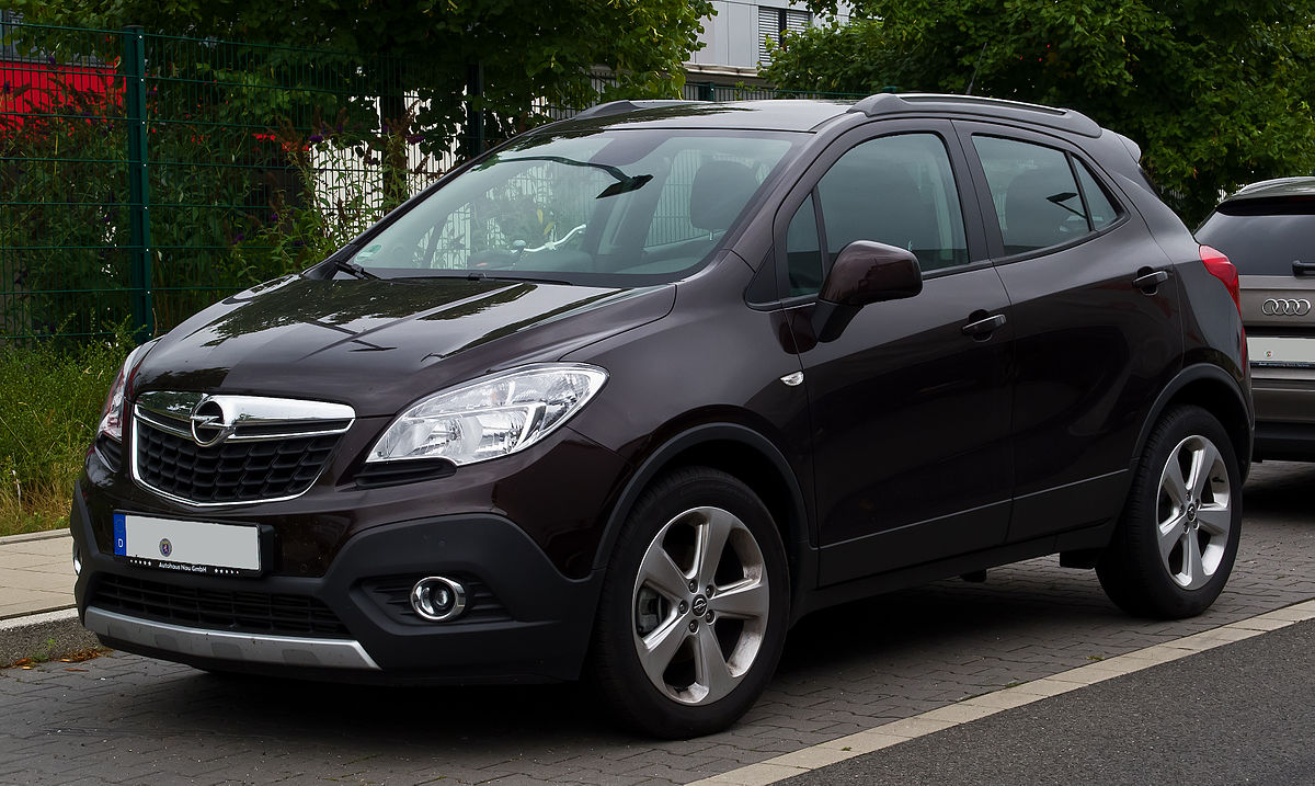 opel mokka wikipedia. Black Bedroom Furniture Sets. Home Design Ideas