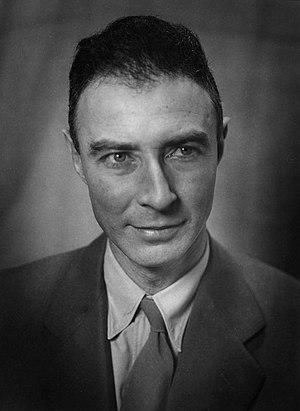 J. Robert Oppenheimer cover