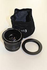 Opteka .35x HD2 Fisheye lens.JPG