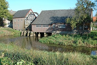Watermill at Opwetten