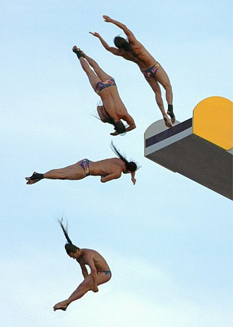 Red Bull Cliff Diving World Series - A composite dive from Orlando Duque.