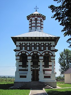Orthodox church of Coțofenii din Dos
