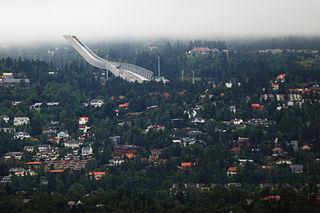 Vestre Aker Borough in Norway