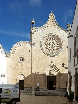 Ostuni Cathedral - West front