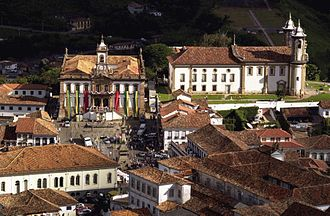 Portuguese Brazilians - Ouro Preto, Minas Gerais an 18th-century colonial city and UNESCO World Heritage Site.