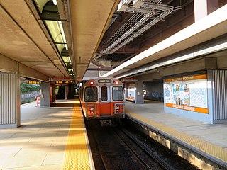 Sullivan Square station Boston MBTA subway station
