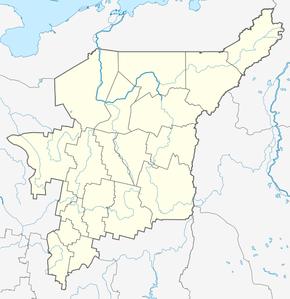 Шердино на карте