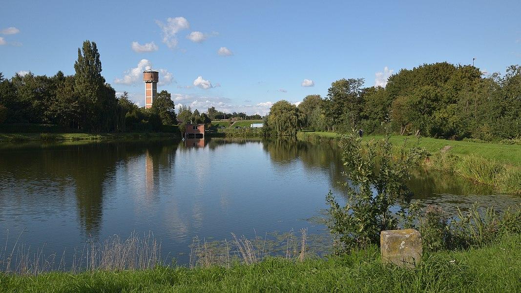 Ovenveld en Watertoren, Melle