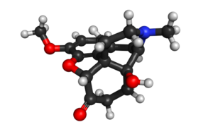Oxycodone structure.png