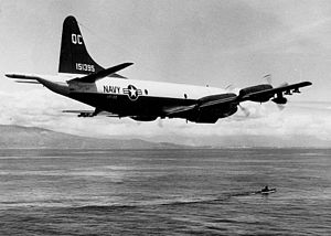 P-3A Orion VP-28 in flight c1964.JPG
