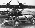 PBY-5A Catalinas with bombs on an Aleutian airfield c1943.jpg