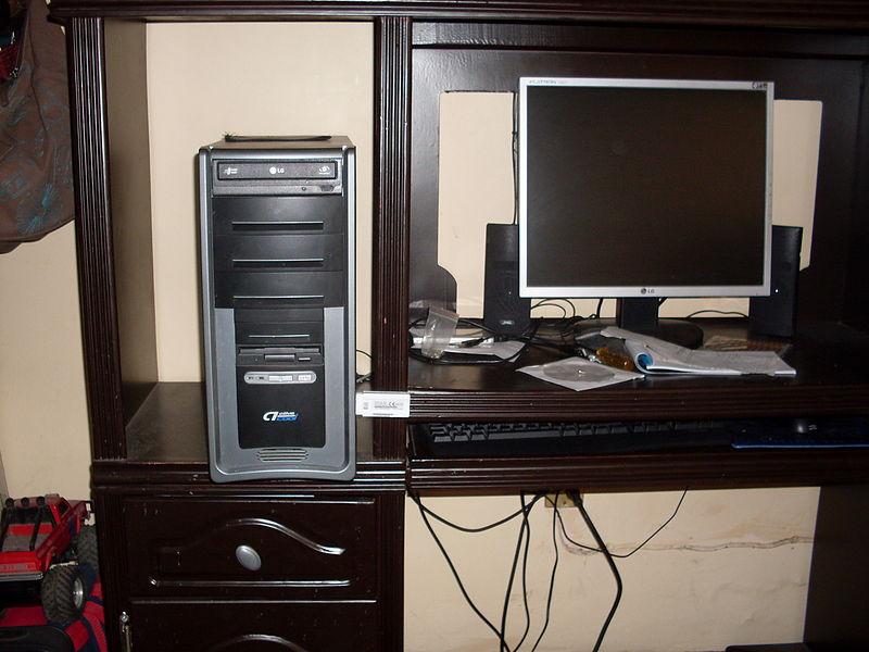 Partes de la computadora y sistemas operativos for Computadora wikipedia