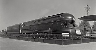 Pennsylvania Railroad class S1 - The S1 at the New York World's Fair of 1939