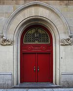 Girls' door to P.S. 116