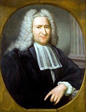 Pieter van Musschenbroek - 1741 portrait of Pieter van Musschenbroek