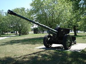 8.8 cm KwK 43 - PaK 43/41 at CFB Borden.
