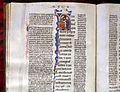 Padova, biblia sacra con glosse, 1283-85, pluteo 3 dx 8, 02.jpg