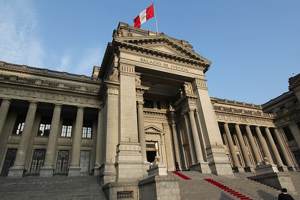 Palacio De Justicia, Lima, Peru