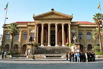 Music of Sicily - Teatro Massimo