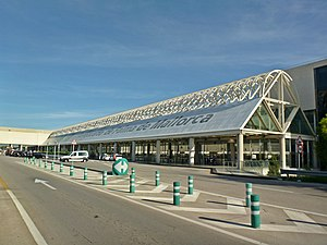 Palma de Mallorca Airport - Outside view of the main terminal