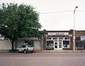 Pampa, Texas - Pampa business district