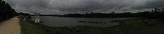 Kukkarahalli Lake - Panoramic view of Kukkarahalli Lake in Mysore